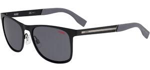 Hugo By Hugo Boss Men's Stainless Steel Soft Square Sunglasses - HG0244S 0003 IR