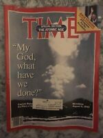 Vtg TIME Magazine Special Section The Atomic Age, July 29, 1985, Hiroshima -BO2