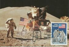 Lunar Landing high denomination Moon Space USA Maximum Card