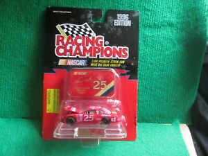 KEN SCHRADER NASCAR #25 (RACING CHAMPIONS) 1:64 SCALE LOT T80 NEW