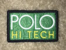 Vtg Polo Ralph Lauren Polo Hi Tech Patch
