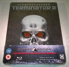 Terminator 2 Judgment Day (2009, UK) Skynet Edition Steelbook NEW