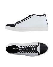 NEIL BARRETT Hi-Top Sneakers - Casual Boots / UK 11 - EU 45 / Leather / RRP £285