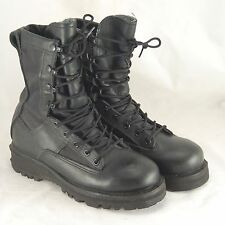 Belleville Gore-Tex Duty Boots Men's 4.5 Black Leather Combat Army Vibram Soles