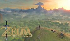 The Legend of Zelda breath of the wild -  Link -  Wall Poster 34in x 20in