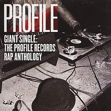 Giant Single Profile Records Rap Anthology Vol 1 LP Vinyl Album Record Store Day