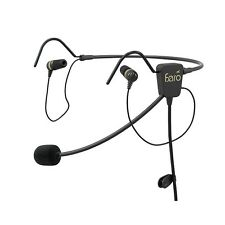 FARO AIR In-Ear Aviation Headset Premium Pilot Headset