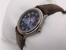 Disney Eeyore Women Watch Authentic Disney Store Wrist Watch Genuin Leather Band