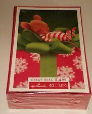 Hallmark Christmas Holiday Card Sugar Plum Dream 40 Cards 40 Envelopes XPX4831