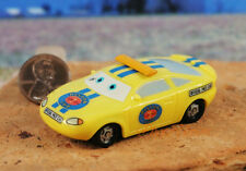 DISNEY PIXAR CARS Charlie Checker Piston Cup Toy Cake Topper Model Figure Decor