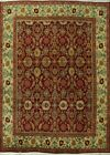 Excellent Floral Oriental Agra Hand-Knotted Area Rug Home Decor Wool Carpet 9x12