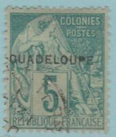 Guadeloupe 17 Used NO FAULTS EXTRA FINE!