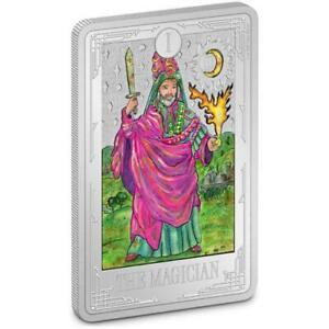 2021 Niue $2 Tarot Cards - The Magician 1oz Silver Coin