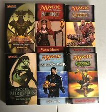 Lot 6 MAGIC THE GATHERING books Odyssey Scourge Prophecy Torment
