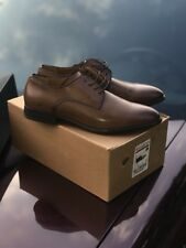 Zara Men's Brown Classic Smart Lace-Up Leather Dress Shoes Size 41 US 11