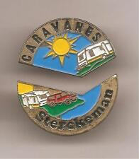 Pin's pin PUZZLE CARAVANES STERCKEMAN (ref CL26)