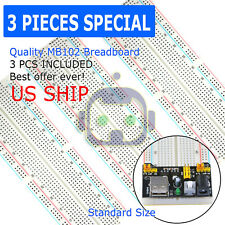 3X MB-102 830 Point Prototype PCB Solderless Breadboard Protoboard US