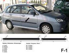 Seitenschutzleisten schwarz für Suzuki Liana Stufenheck & Kombi 07.2001-2007 F1