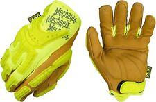 Mechanix Wear - CG Leather Hi-Viz Heavy Duty Gloves (  Brown/Yellow )