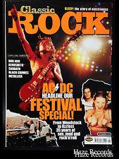 ACDC Cover Classic Rock Magazine. Rose Tattoo, Aerosmith,  Sabbath, Metallica