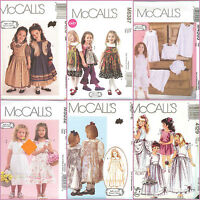 OOP McCalls Sewing Pattern Girls Childs Ruffles and Lace Collection You Pick
