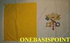3'x5' Vatican Holy See Flag Pope Francis Rome Bishop St Peter Catholic Saint 3X5