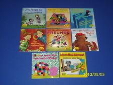 8 pixi Bücher - Meine Freunde Nr. 1496 - 1504 - Pixi Serie 167