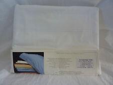 4 pc Michelangelo Art Double Piped 800 TC Egyptian White King Sheet Set $948 NIP