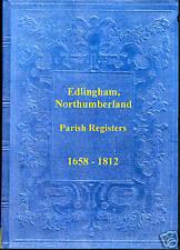 Genealogy - Edlingham Parish Registers (Northumberland)