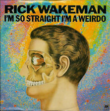"Rick Wakeman I'm So Straight I'm A Weirdo UK 45 7"" single +Picture Sleeve"