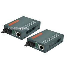 Fiber Optical Media Converter Single port 20KM HTB-GS-03/AB SM--1000Mbps 1Pair