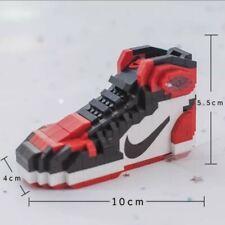 Brand New Bred Toe Air Jordan 1 Sneakers Lego Building Blocks Bricks