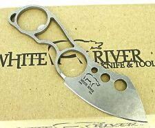 White River Knucklehead Fixed Blade Survival Neck Knife CPM S30V WRKNU New