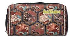 Japan anime INUYASHA leather wallet Zipper Coin cosplay Unisex Long pu Purse new