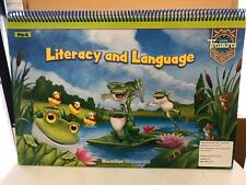 McGraw-Hill Pre-K Literacy and Language Flip Chart (Little Treasures) Big Book