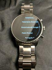 Fossil(Gen 4) Explorist HR Smartwatch 45mm Stainless Steel.