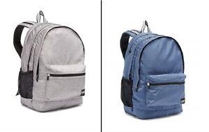 1 x VICTORIA SECRET PINK SCHOOL BAG, BACKPACK BOOKBAG COLLEGE STUDENT laptop