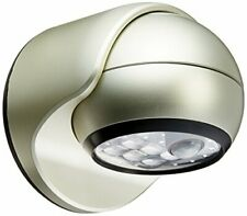 Light It! By Fulcrum, 6-LED Motion Sensor Security Light, Wireless, Silver
