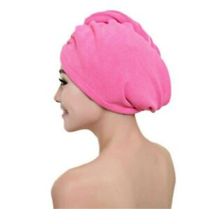 NEW QUICK DRY HAIR TURBAN MAGIC TOWEL MICROFIBER BATH TOWEL SOFT SHOWER