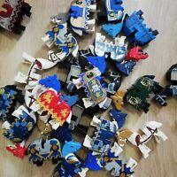LEGO - Castle, kingdoms Horses x5 per order Bulk Packs with Barding/armour