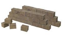 William Britain 20050 Zulu War British Army Biscuit Box Wall Sections