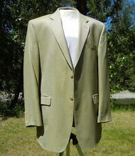 """BAMBOO BLAZER 44L CHEST 58"""" FRESH GREEN 2B 2V CANADIAN CHAPS TAG 44L MOORES"""
