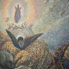 Serbian artist N. Petkovich Annunication to the Good Shepard angels 1883-1952
