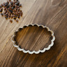 Scalloped Oval Frame Cookie Cutter - Plaque Cookie Cutter - 3 Sizes -