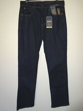 Cremieux Premium Mens Blue Jeans * Straight Leg Stretch Dark Indigo (2) Sz 40x32