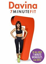 Davina: 7 Minute Fit - New for 2015 (DVD)
