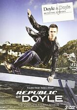 REPUBLIC OF DOYLE - THE COMPLETE FOURTH SEASON 4 -  DVD - UK Compatible - sealed