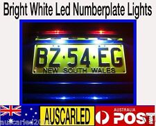 Toyota Kluger 4x W5W 194 168 bright white LED number plate - park  bulb globe