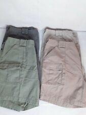 Brand New Weekender Men's Khaki Shorts Lot of 4 Gray Olive Green Mocha Brown 42