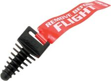 FMF Racing Exhaust Wash Plug with Streamer Black for 2 Stroke